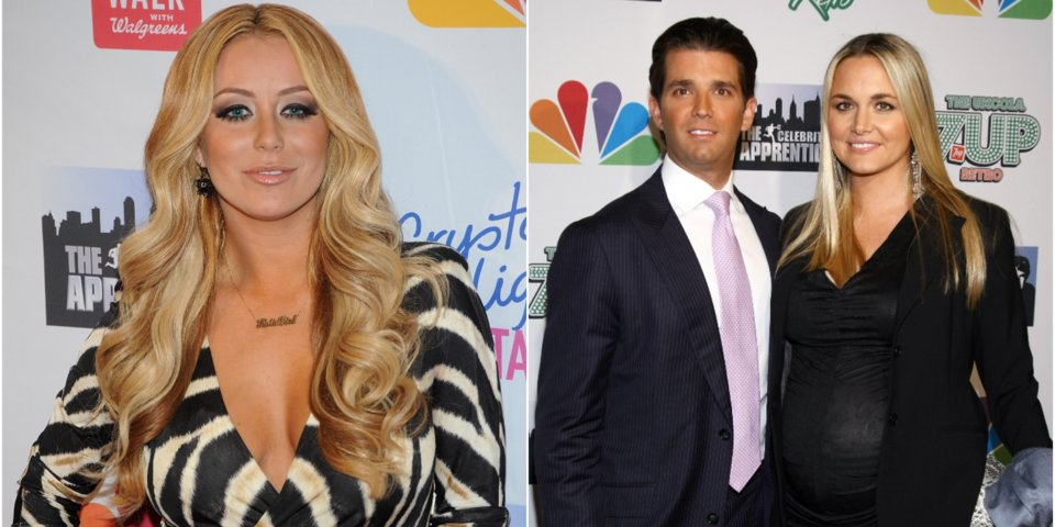 Donald Trump Jr. was reportedly cheating on his pregnant wife with a reality TV Star