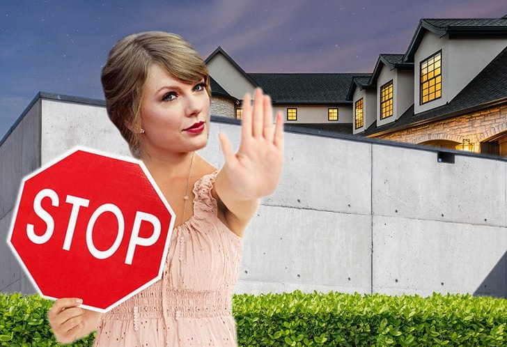 TAYLOR SWIFT I Need Walls On Walls TO KEEP MY HOME SAFE