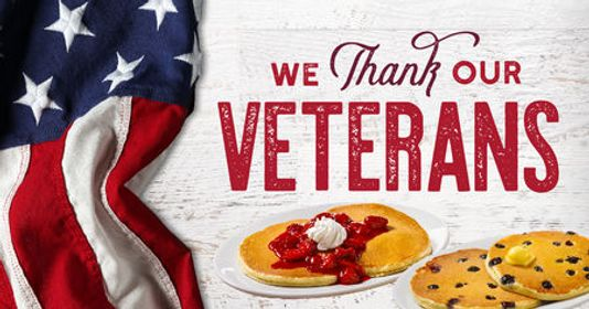 FOOD FREEBIES FOR VETERANS DAY!