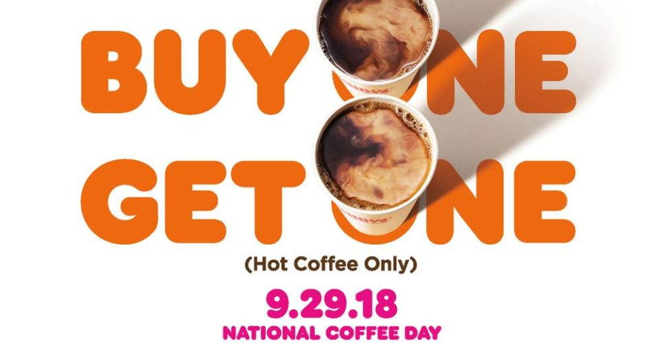 National Coffee Day Freebies and Deals!